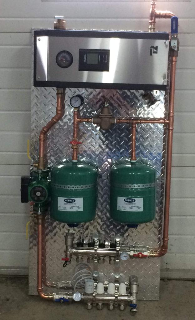 Installation rapide d'un système de chauffage glycol et au meilleur prix