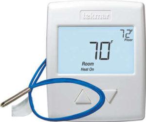 Thermostat pour plancher chauffant Tekmar